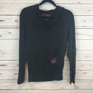 Victoria's Secret Black Jacket and Pants